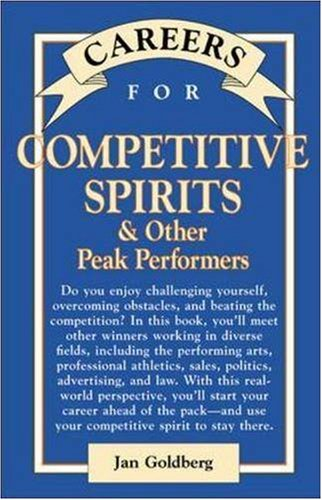 9780844220635: Careers for Competitive Spirits & Other Peak Performers (VGM Careers for You)