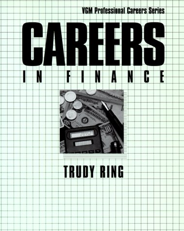 9780844220703: Careers in Finance (McGraw-Hill Professional Careers)