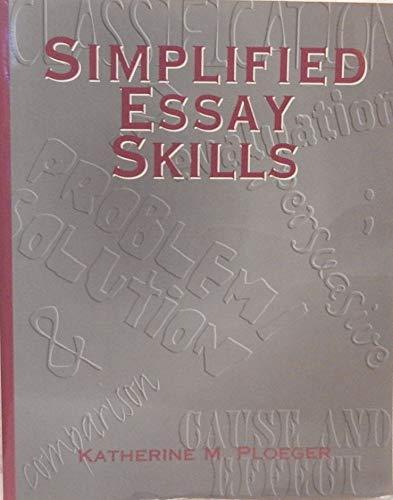 9780844221038: Simplified Essay Skills