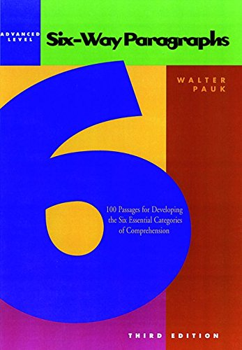 9780844221236: Six-Way Paragraphs: Advanced Level 100 Passages for Developing the Six Essential Categories of Comprehension