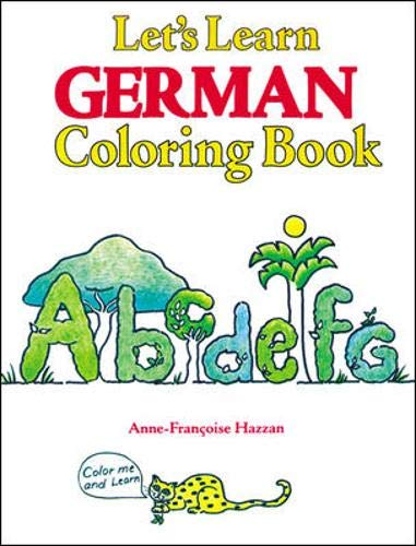9780844221649: Let's Learn German Coloring Book (Let's Learn Coloring Books)