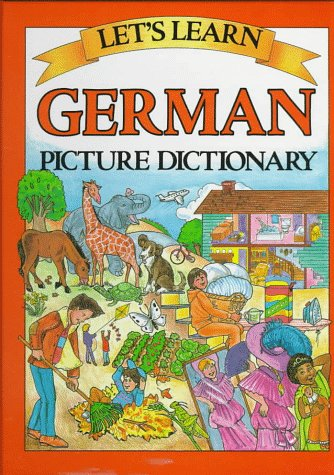 9780844221670: LETS LEARN: GERMAN PICTURE DICTIONARY