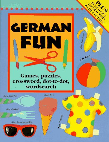 German Fun: Games, Puzzles, Crosswords, Dot to Dot Wordsearch: Bruzzone, Catherine