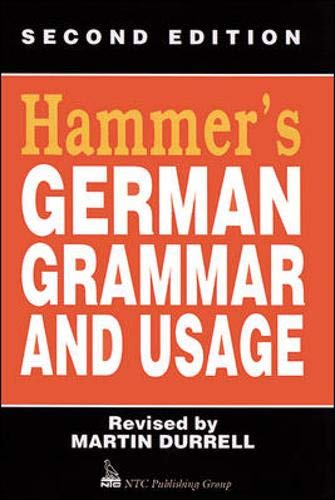 9780844222066: Hammers German Grammar & Usage 2nd Ed