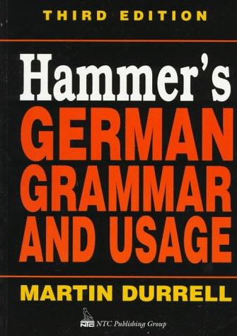 9780844222080: Hammer's German Grammar and Usage