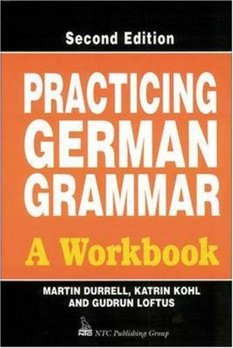 9780844222097: Practicing German Grammar