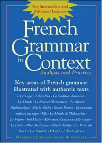 9780844222394: French Grammar in Context: Analysis and Practice