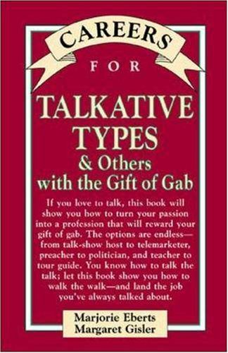 9780844222868: Careers for Talkative Types & Others With The Gift of Gab (VGM Careers for You)