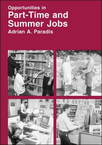 9780844223155: Opportunities in Part-Time and Summer Jobs Careers (Opportunities in Series)
