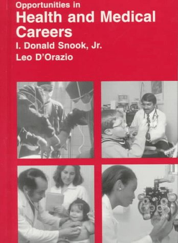 9780844223179: Opportunities in Health and Medical Careers (Opportunities in Series)