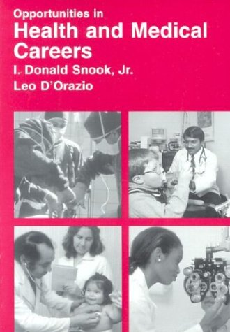 9780844223186: Opportunities in Health and Medical Careers