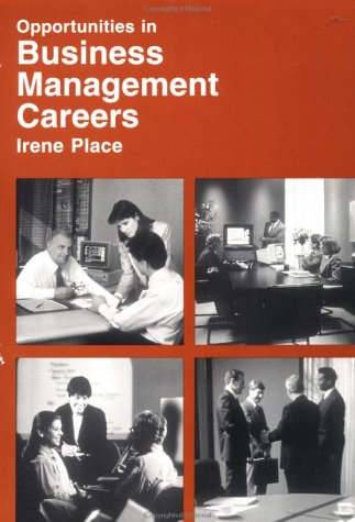 9780844223261: Opportunities in Business Management Careers