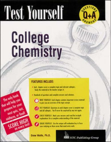 9780844223537: College Chemistry (Test Yourself)