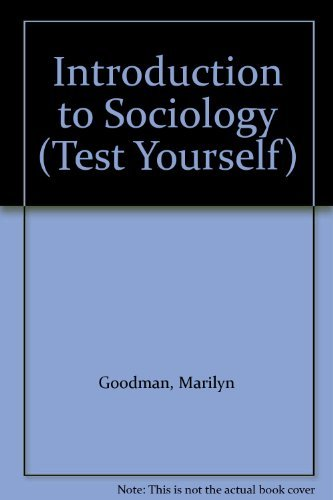 9780844223674: Introduction to Sociology (Test Yourself)