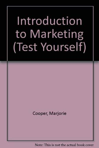 9780844223735: Introduction to Marketing (Test Yourself)