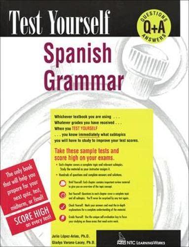 9780844223742: Test Yourself: Spanish Grammar