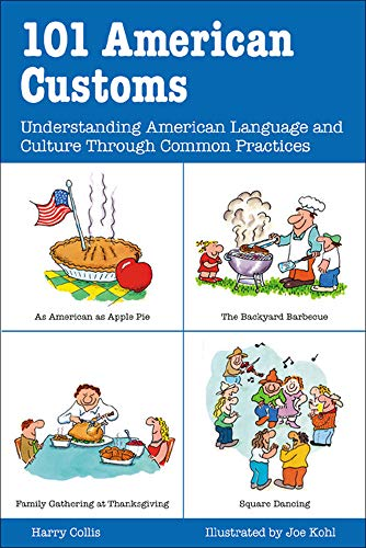 9780844224077: 101 American Customs : Understanding Language and Culture Through Common Practices
