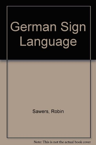 9780844224459: German Sign Language