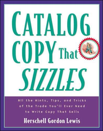 9780844224473: Catalog Copy That Sizzles