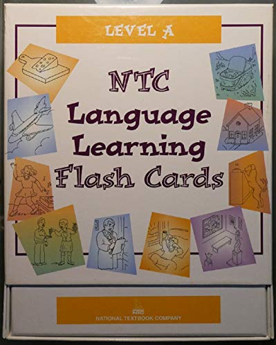 9780844224749: Visual Aids: NTC Language Learning Flash Cards, Level A, Grades K-8