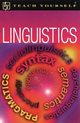 Teach Yourself Linguistics: Jean Aitchison