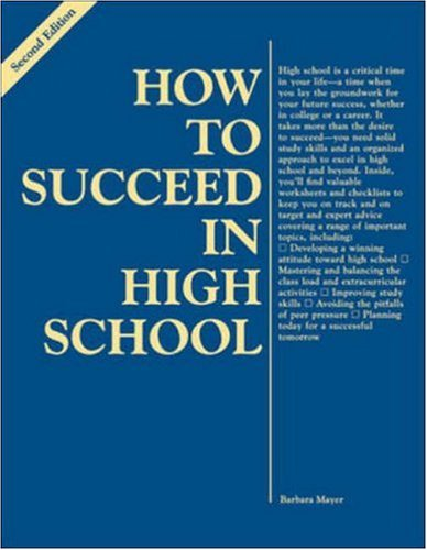 9780844229416: How to Succeed in High School