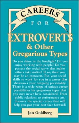 9780844229737: Careers for Extroverts & Other Gregarious Types