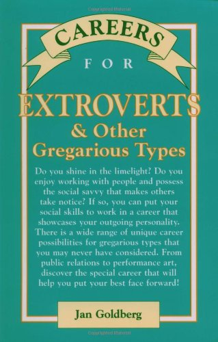 9780844229768: Careers for Extroverts & Other Gregarious Types