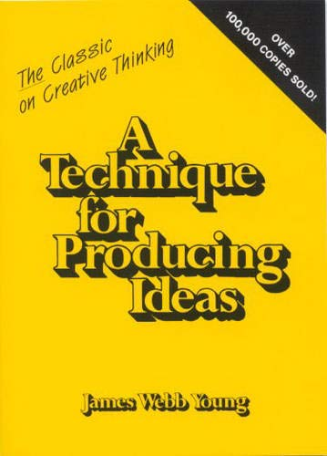 9780844230009: Technique for Producing Ideas