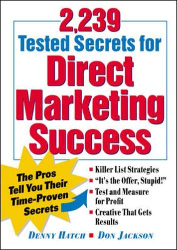 9780844230078: 2,239 Tested Secrets For Direct Marketing Success