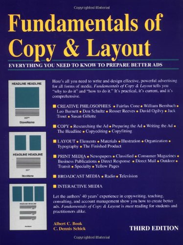 9780844230245: Fundamentals of Copy & Layout : Everything You Need to Know to Prepare Better Ads