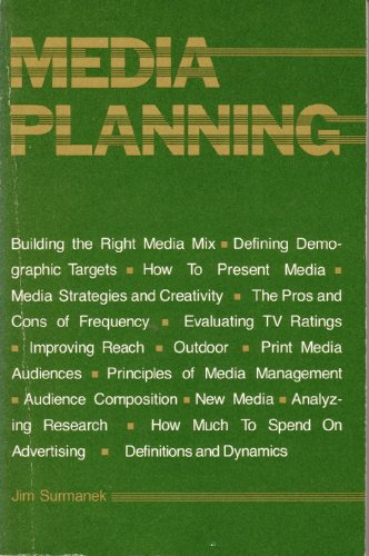9780844230467: Media Planning: A Practical Guide