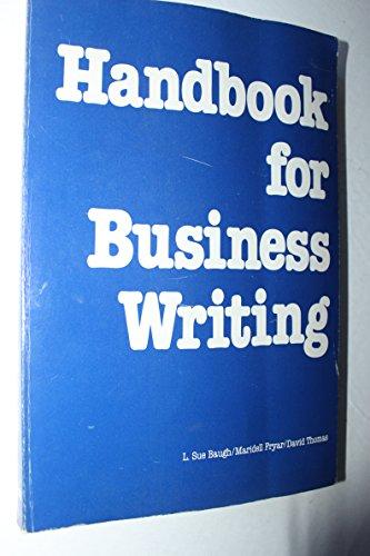9780844231495: Handbook for Business Writing