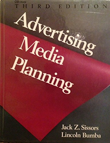 9780844231587: ADVERTISING MEDIA PLANNING (THIRD EDITION)