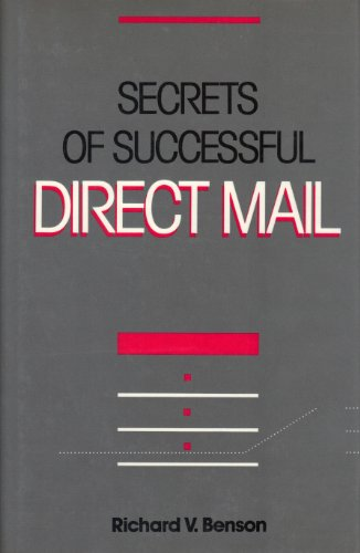 9780844231785: SECRETS OF SUCCESSFUL DIRECT MAIL HARD