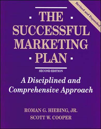 9780844232034: The Successful Marketing Plan: A Disciplined and Comprehensive Approach