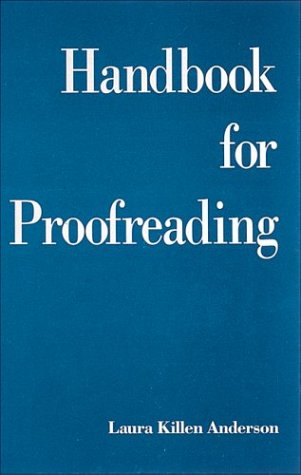 9780844232652: Handbook for Proofreading