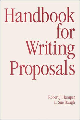 9780844232737: Handbook For Writing Proposals