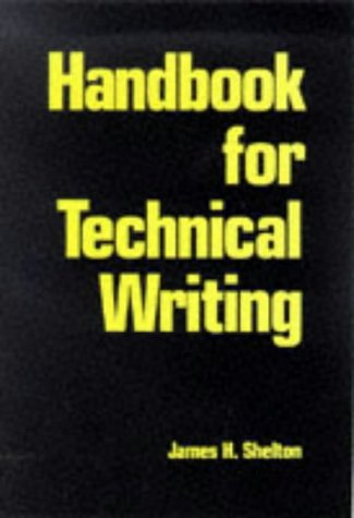 9780844232768: Handbook for Technical Writing