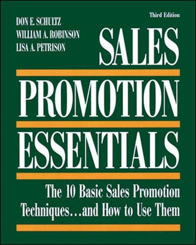 9780844233550: Sales Promotion Essentials : The 10 Basic Sales Promotion Techniques... and How to Use Them