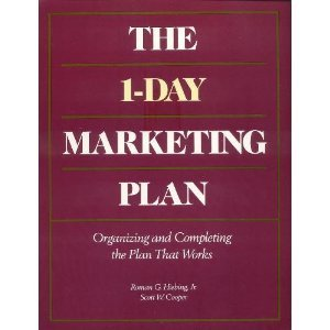9780844233598: The 1-Day Marketing Plan: Organizing and Completing the Plan That Works