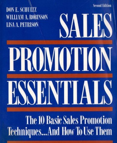 9780844233673: Sales Promotion Essentials: The 10 Basic Sales Promotion Techniques...and How to Use Them