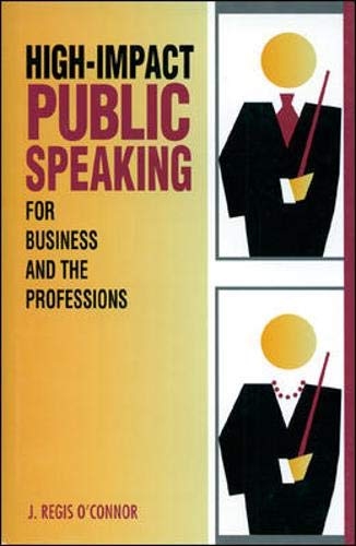 9780844234137: High-Impact Public Speaking for Business and the Professions