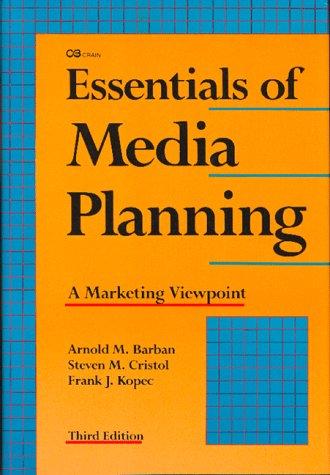 9780844235233: Essentials of Media Planning
