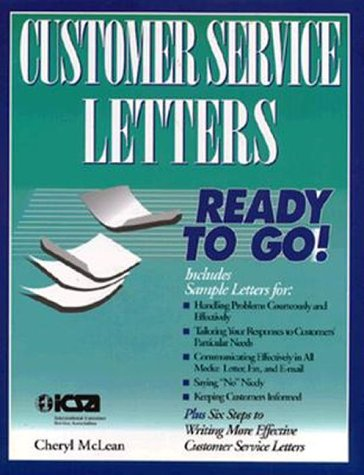 9780844235677: Customer Service Letters Ready to Go!