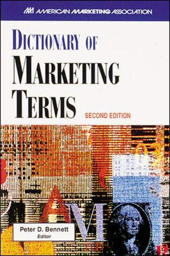 9780844235981: AMA Dictionary of Marketing Terms
