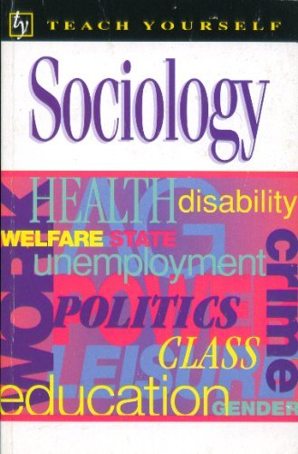 9780844236490: Teach Yourself Sociology