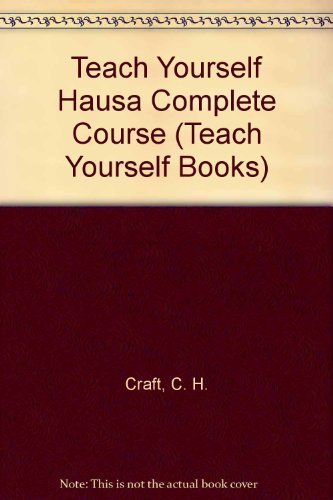 9780844237916: Teach Yourself Hausa: A Complete Course for Beginners (Teach Yourself Books) (English and Hausa Edition)