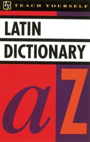 9780844238128: Teach Yourself Latin Dictionary