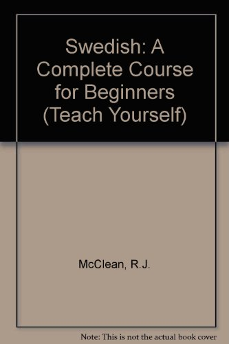 9780844238395: Swedish: A Complete Course for Beginners (Teach Yourself)